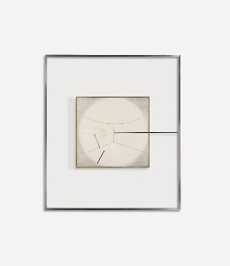 Linear Image The New Vitruvius, Version 2 a painting by Victor Pasmore