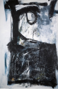 Witness an abstract painting by Peter Lanyon