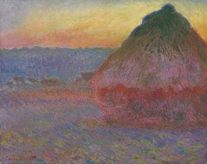 Meule a painting by Claude Monet